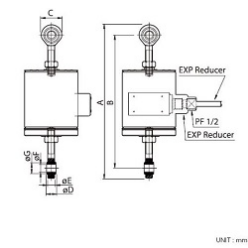 CTS (Stainless Canister Load Cell) ACCESSORY