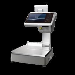 """CL7200D Barkodlu Terazi - Dokunmatik Ekran, Müşteri Ekranı, Ürünleriniz Market, Şarküteri ve Kasap Firmaları İçin Kullanıma Uygun 2 Yıl Garantili. Faaliyet Alanınıza Göre 15 veya 30 KG Opsiyonel Tartım Kapasitesini Seçebilirsiniz. Tezgahtar satışı, fiyat etiketleme ve kasa için tezgah üstü terazi. 7"""" müşteri ekranına sahip, tezgahtar satışı için profesyonel tezgah terazisi."""