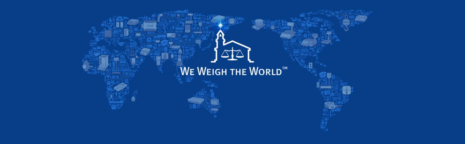 WE WEIGH THE WORLD
